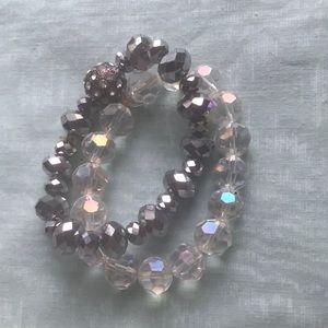 Jewelry - Sparkle & shine stretch bracelets